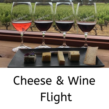 Cheese and Wine Flight